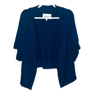 AIKO Blue Slouchy Cardigan Small